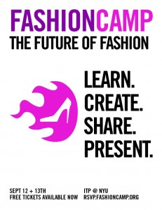 Fashion Camp Poster