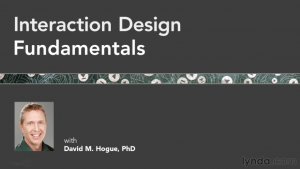 Cover slide for Interaction Design Fundamentals