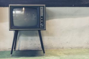 Old tube-style TV