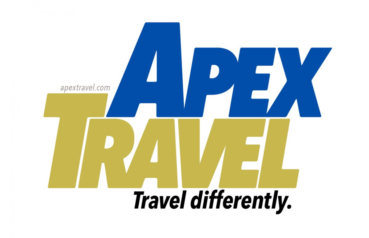 Display Text Typography Projects: Apex Travel