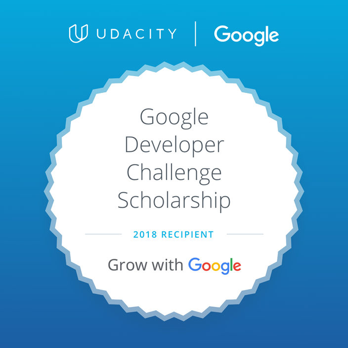 Announcement: Mobile Web Specialist Google Developer Challenge Scholarship