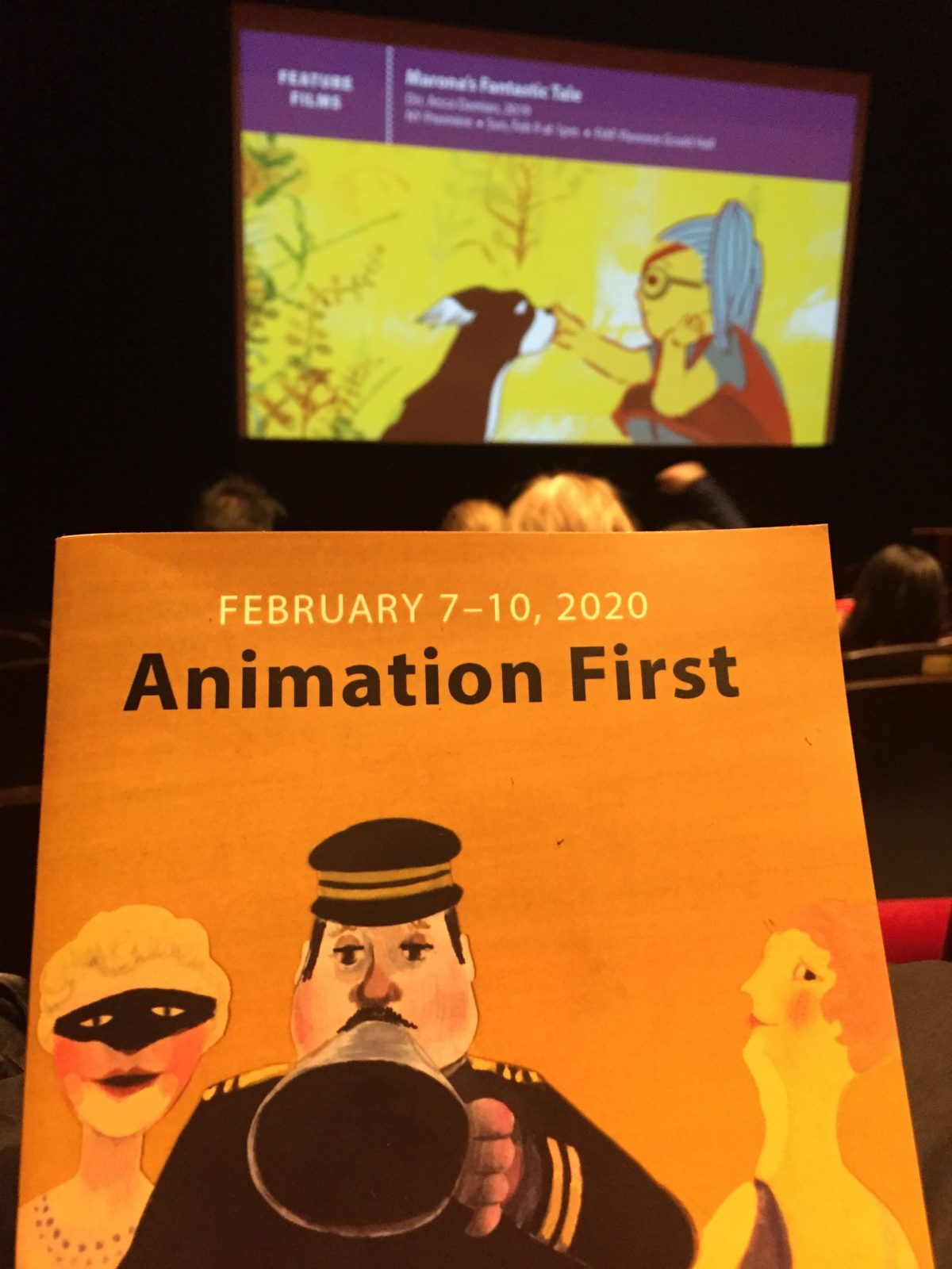 FIAF Animation First, Feb 7-10, 2020